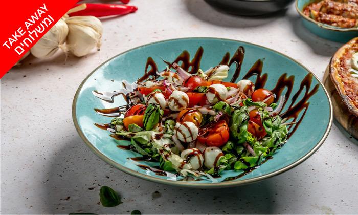 7 ארוחה איטלקית במשלוח ממסעדת פום-פיי הכשרה, ראשון לציון