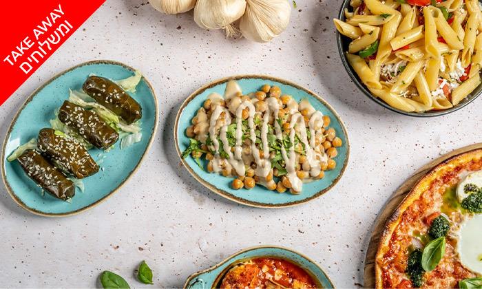 17 ארוחה איטלקית במשלוח ממסעדת פום-פיי הכשרה, ראשון לציון