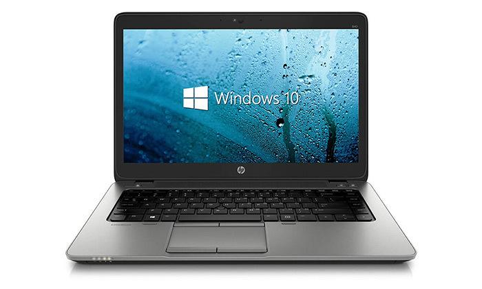 """4 מחשב נייד מחודש HP דגם 840 מסדרת EliteBook עם מסך """"14, זיכרון 8GB ומעבד i7"""