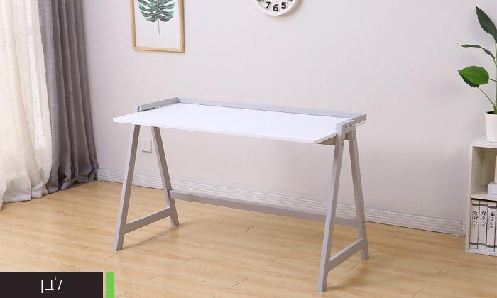 5 שולחן עבודה עם רגלי מתכת