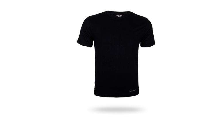 3 מארז 3 חולצות לגברים 100% כותנה קלווין קליין Calvin Klein