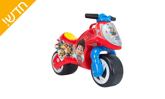 2 בימבת אופנוע לילדים MARVEL