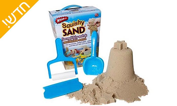 7 חול קינטי - מארז 2 מזוודות crazsand