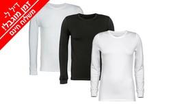 3 חולצות תרמיות לגבר או לאישה