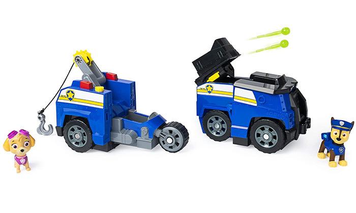צעצוע רכב משטרה ענק - מפרץ ההרפתאקות