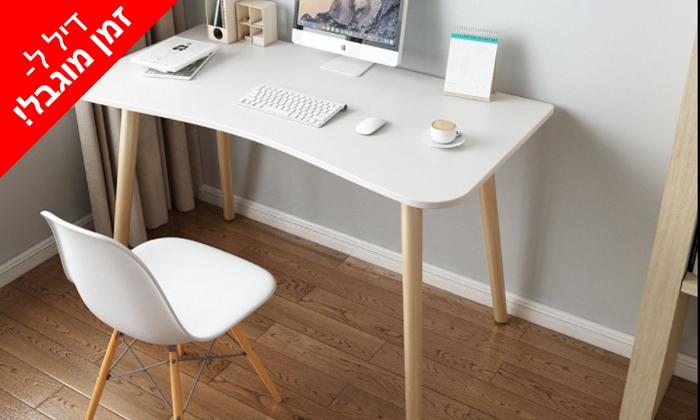 3 לזמן מוגבל: שולחן מחשב כולל כיסא מנהלים אורתופדי