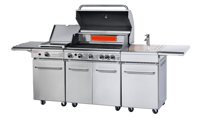 6 מטבח חוץ PEERLESS בהספק כולל של87050 BTU