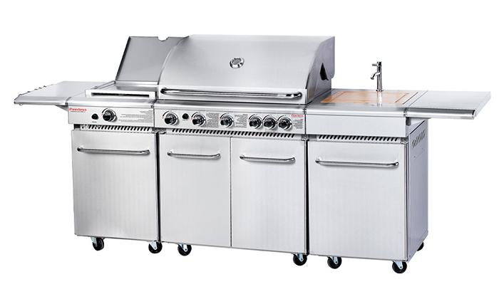 2 מטבח חוץ PEERLESS בהספק כולל של87050 BTU