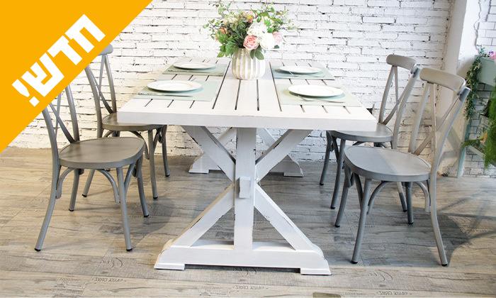 3 שולחן מלבני בסגנון וינטג' לגינה SUNRISE