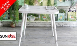שולחן מרובע לגינה