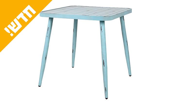 3 שולחן מרובע בסגנון וינטג' לגינה SUNRISE