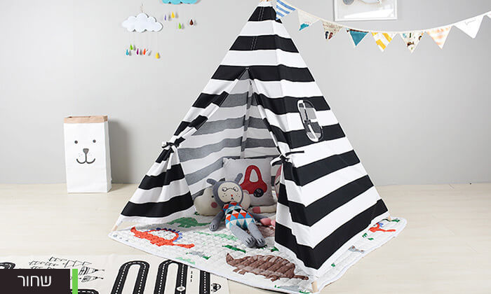 3 אוהל טיפי לחדר הילדים