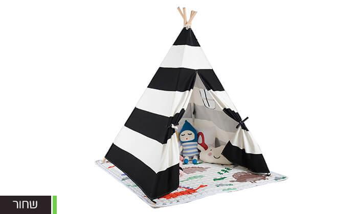 4 אוהל טיפי לחדר הילדים