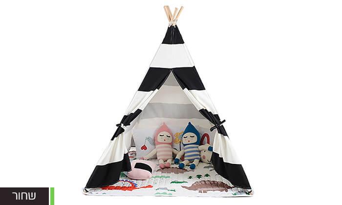 5 אוהל טיפי לחדר הילדים