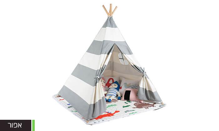 7 אוהל טיפי לחדר הילדים