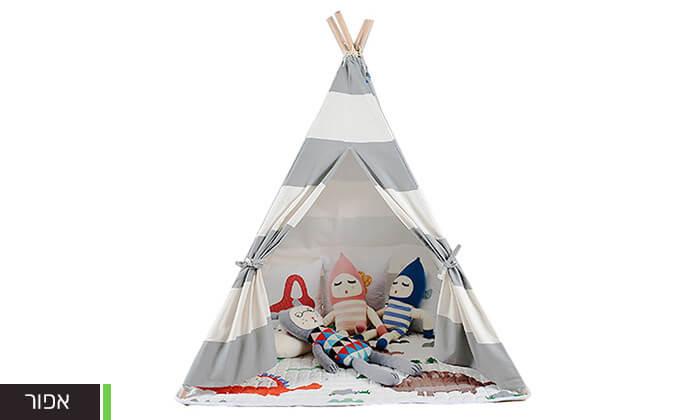 8 אוהל טיפי לחדר הילדים