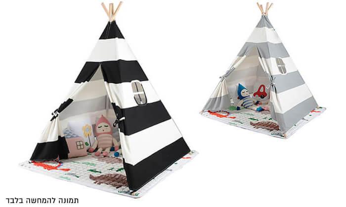 2 אוהל טיפי לחדר הילדים