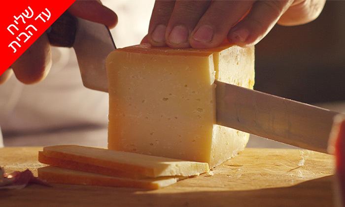 3 מארזי גבינות במשלוח ממעדניית הבוטיק ברמלה 'מוצרלה - הגבינות של שלומי'