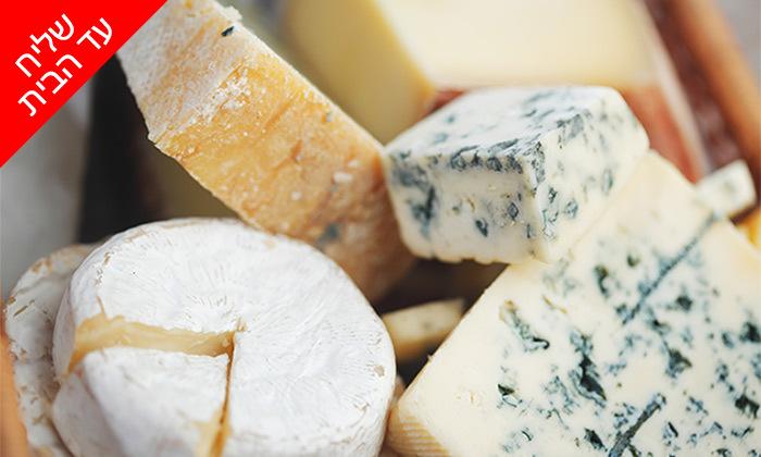 4 מארזי גבינות במשלוח ממעדניית הבוטיק ברמלה 'מוצרלה - הגבינות של שלומי'