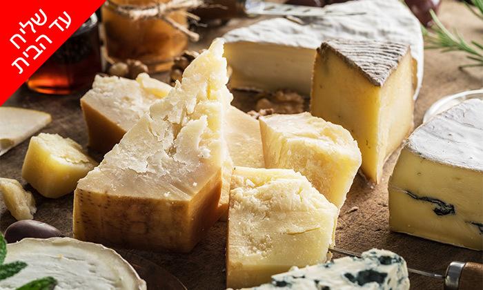 5 מארזי גבינות במשלוח ממעדניית הבוטיק ברמלה 'מוצרלה - הגבינות של שלומי'