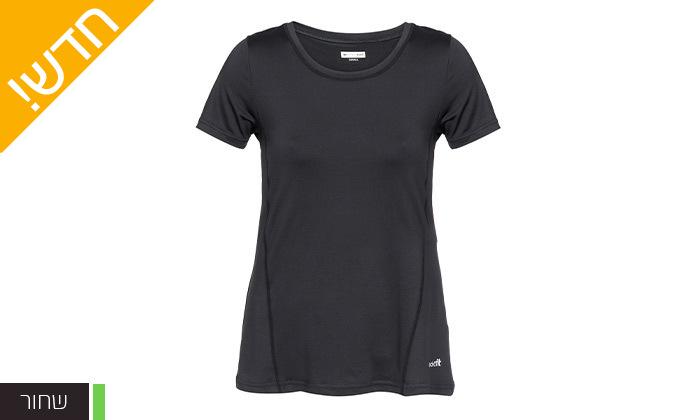 6 מארז 3 חולצות וגופיות ספורט לנשים ECHO RED