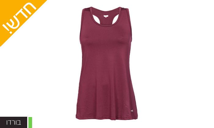 9 מארז 3 חולצות וגופיות ספורט לנשים ECHO RED