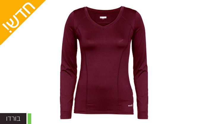 11 מארז 3 חולצות וגופיות ספורט לנשים ECHO RED