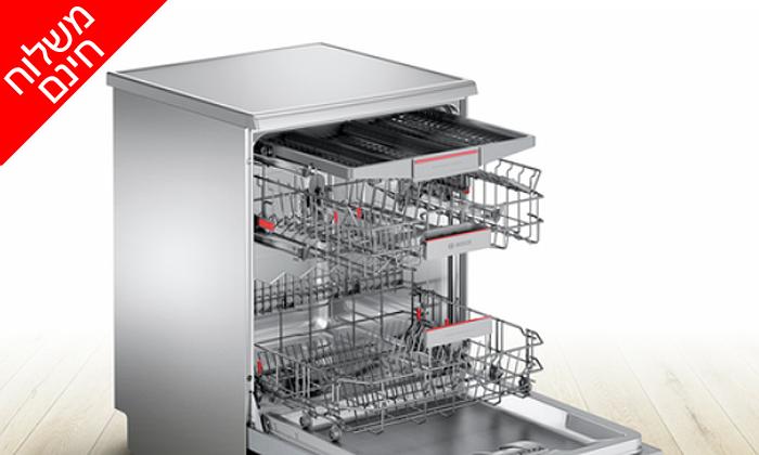 3 מדיח כלים נירוסטה רחב Bosch - משלוח חינם כולל התקנה ביום האספקה!