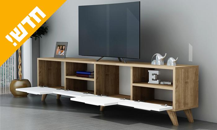 3 מזנון טלוויזיה Tudo Design