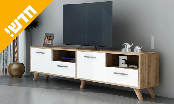 4 מזנון טלוויזיה Tudo Design
