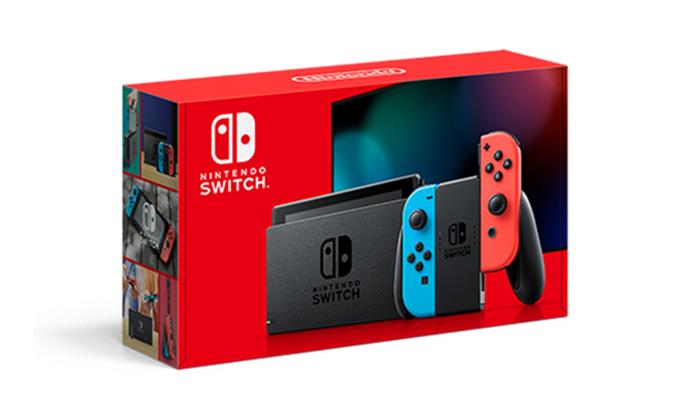 5 קונסולת משחקים Nintendo Switch