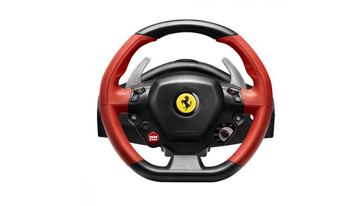 5 הגה מירוצים Ferrari 458 Spider
