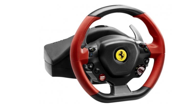 3 הגה מירוצים Ferrari 458 Spider