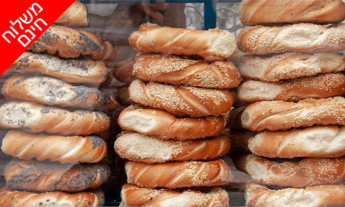 11 מארז לחמים ומאפים לשבת מעולם הלחם, משלוח חינם בין נתניה לאשדוד