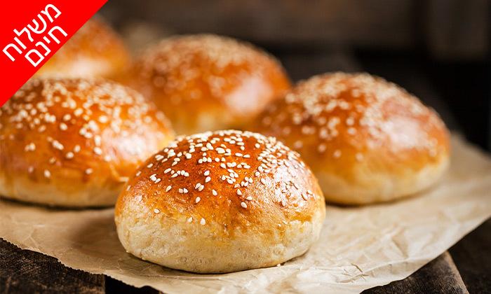 7 מארז לחמים ומאפים לשבת מעולם הלחם, משלוח חינם בין נתניה לאשדוד