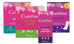 10 חבילות מגני תחתון Carefree
