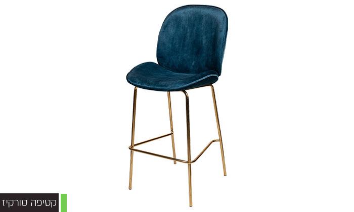 7 כיסא בר מרופד SUN DESIGN HOME