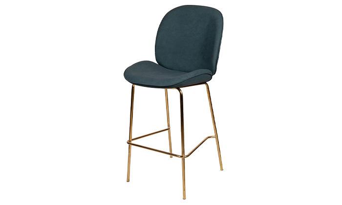 8 כיסא בר מרופד SUN DESIGN HOME