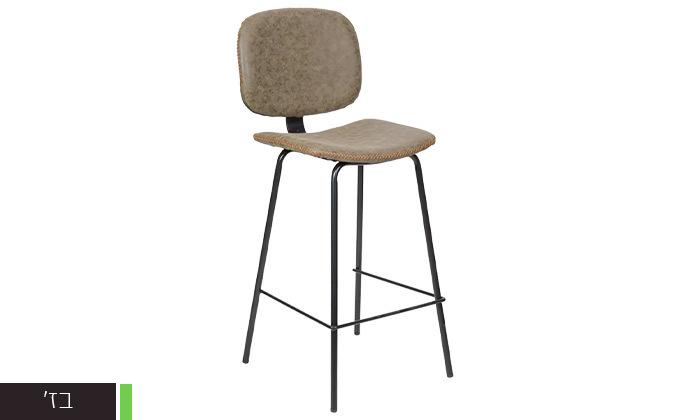 3 כיסא בר מרופד SUN DESIGN HOME