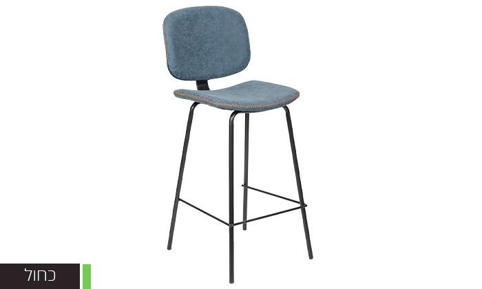 5 כיסא בר מרופד SUN DESIGN HOME