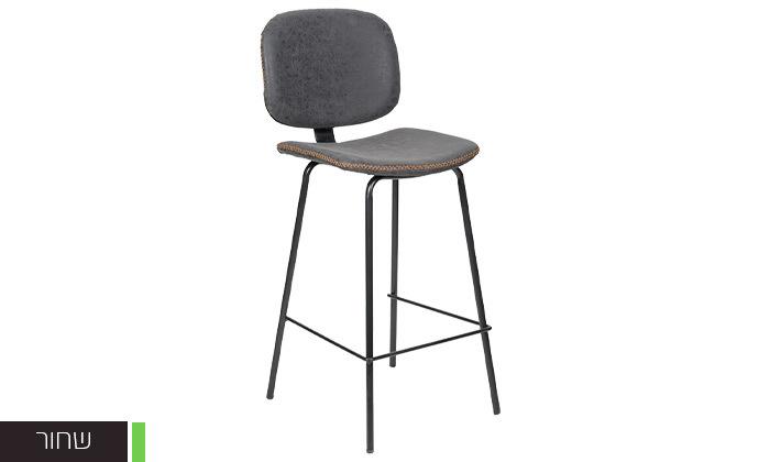 6 כיסא בר מרופד SUN DESIGN HOME
