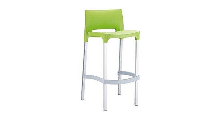 3 זוג כסאות בר מפלסטיקSUN DESIGN HOME דגם 035B