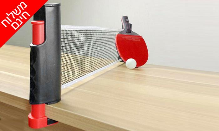 4 ערכת טניס שולחן- משלוח חינם