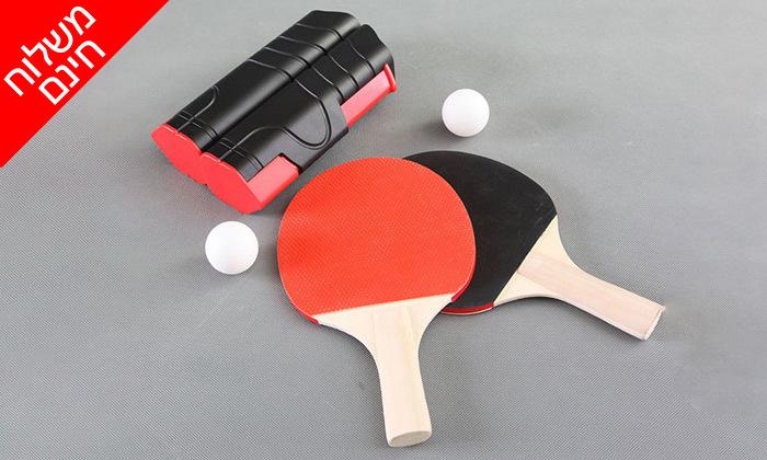5 ערכת טניס שולחן- משלוח חינם