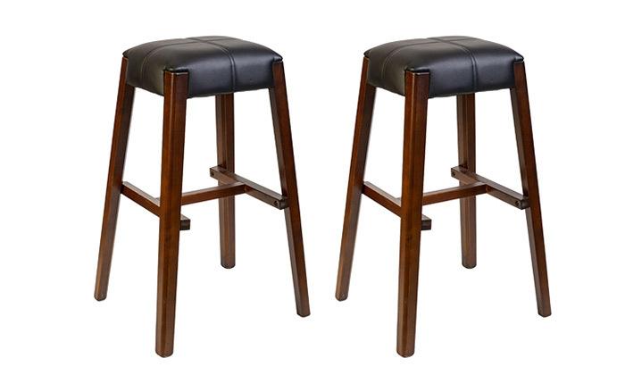2 זוג כיסאות בר SUN DESIGN HOME דגם 909B