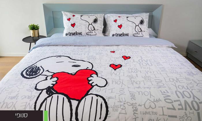 6 סט מצעים 100% כותנה מיקי/מיני מאוס למיטה זוגית RED CHILLI