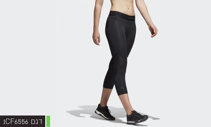 5 2 מכנסי טייץ לנשים וגברים Adidas