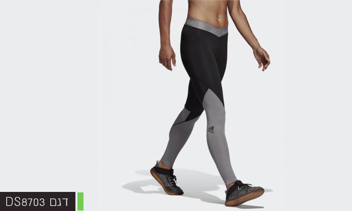 10 2 מכנסי טייץ לנשים וגברים Adidas