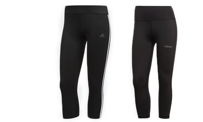 2 2 מכנסי טייץ לנשים וגברים Adidas