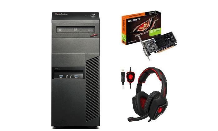 3 מחשב נייח LENOVO עם מעבד I5